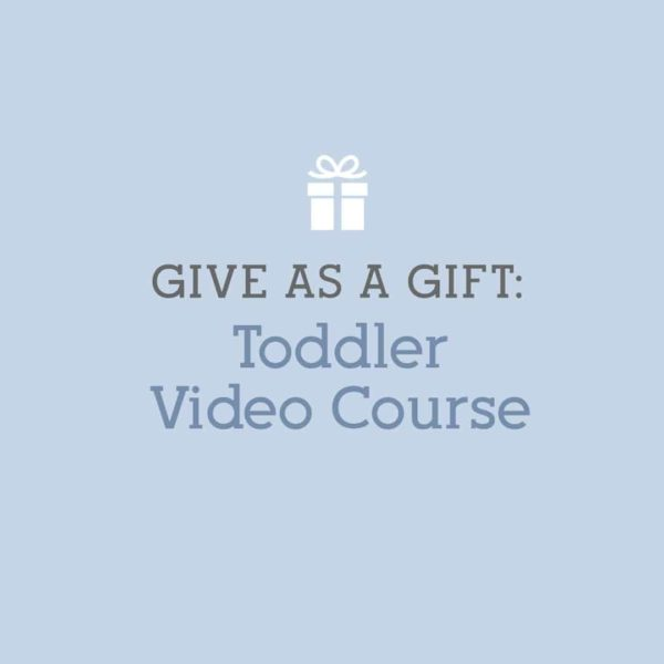 Gift: Toddler Online Course