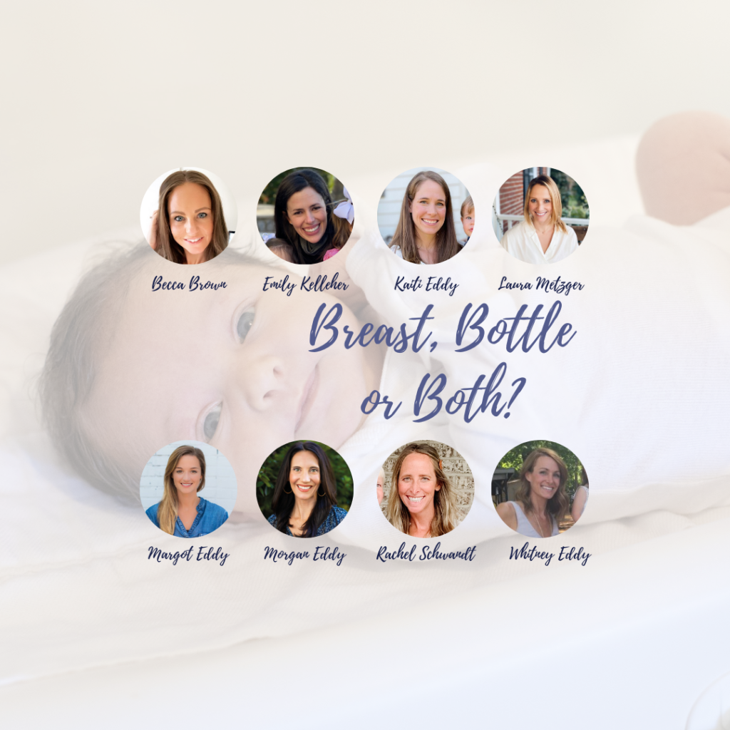 A Moms on Call Baby: Breast, Bottle or Both?