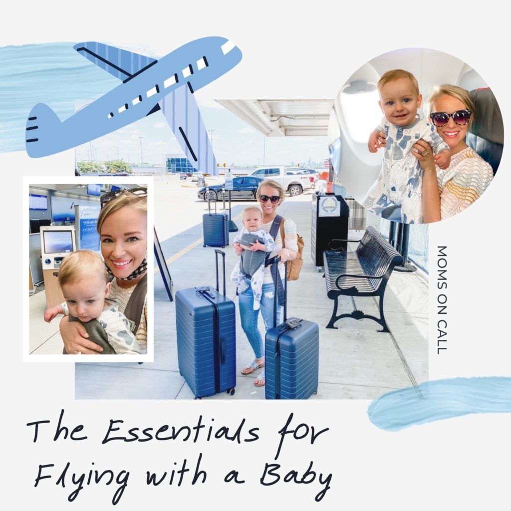 The Essentials for Flying With a Baby