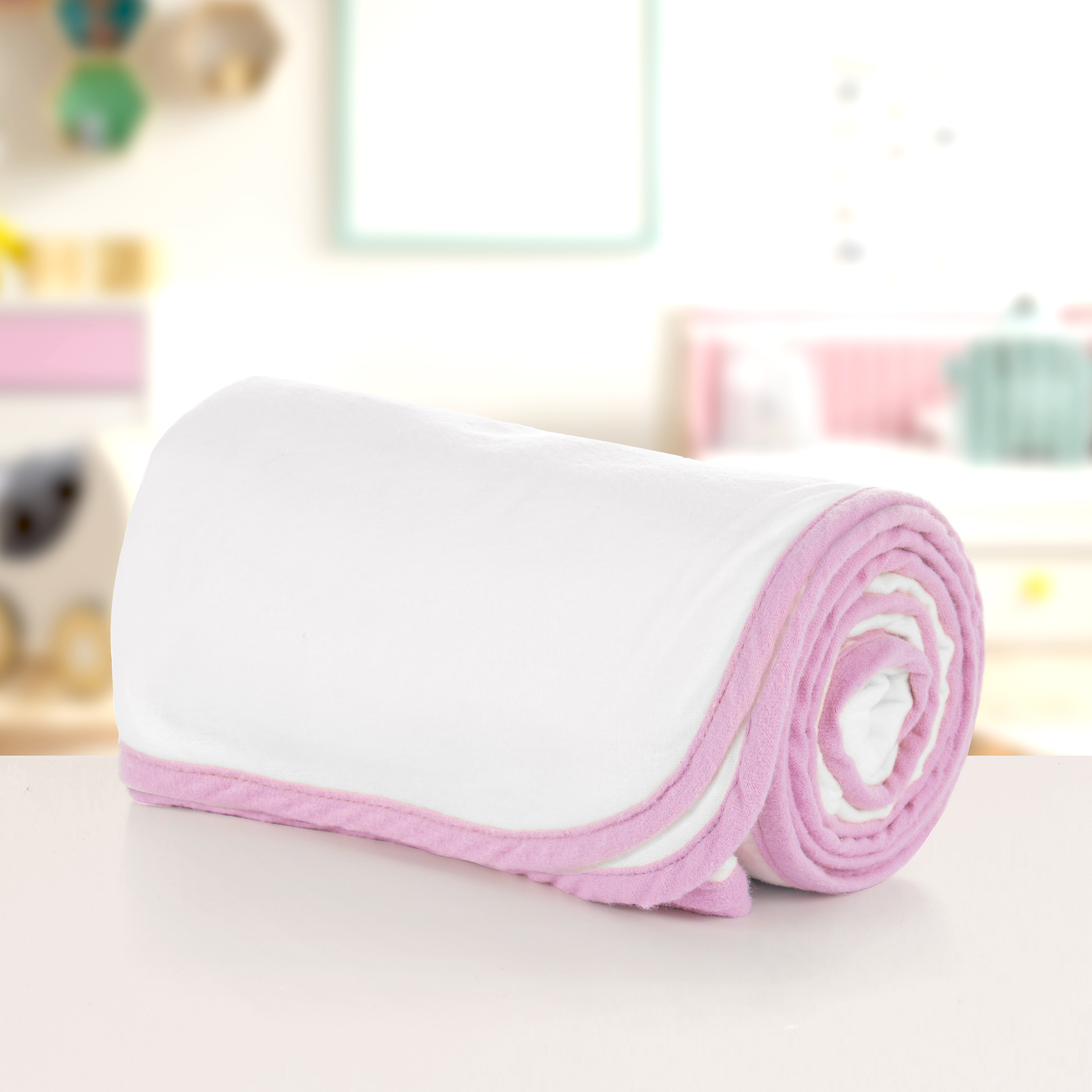 Moms on Call Swaddle Blanket English Rose